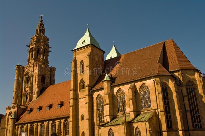 Iglesia del santo Kilian en Heilbronn, Alemania fotografía de archivo libre de regalías