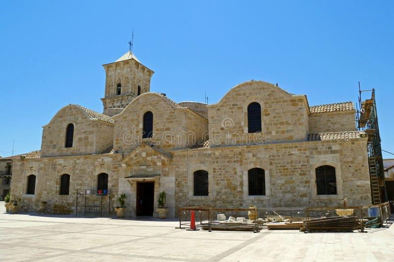 Iglesia del santo Lazarus, Larnaca, Chipre foto de archivo libre de regalías