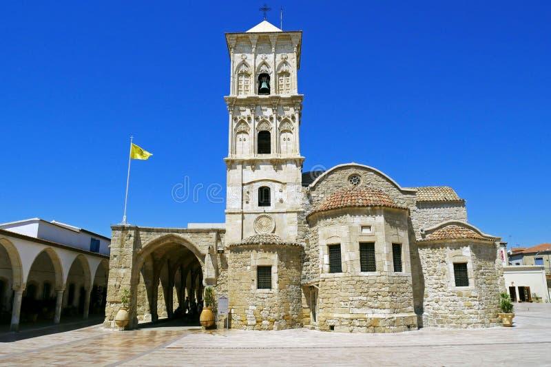 Iglesia del santo Lazarus, Larnaca, Chipre imagenes de archivo