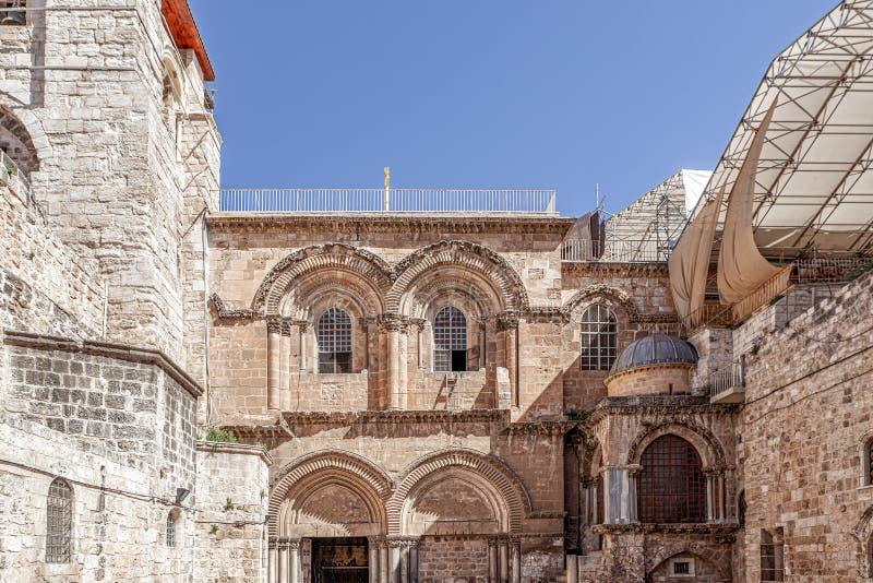Iglesia del Santo Sepulcro en Jerusalén foto de archivo libre de regalías