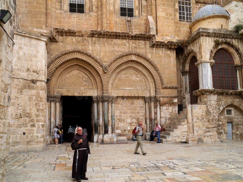 Iglesia del sepulcro santo, Jerusalén fotos de archivo libres de regalías