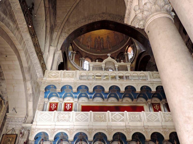 Iglesia del sepulcro santo, Jerusalén imagen de archivo libre de regalías