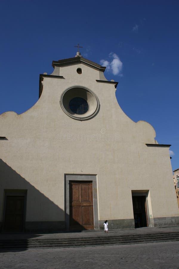 Iglesia del spirito de Santo en Florencia imágenes de archivo libres de regalías