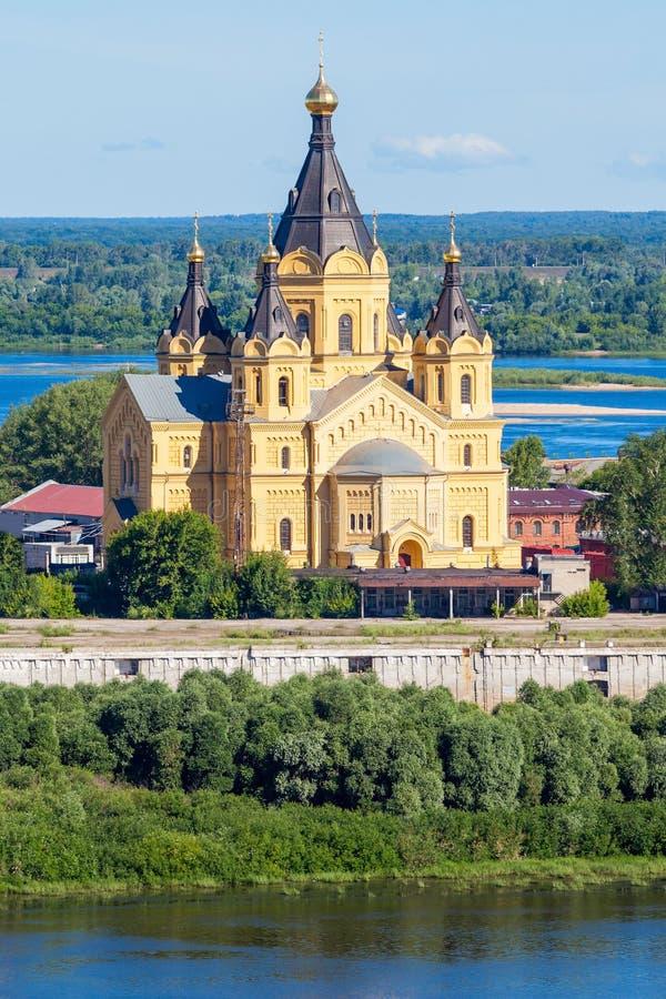 Iglesia del St Alexander Nevskiy fotos de archivo libres de regalías