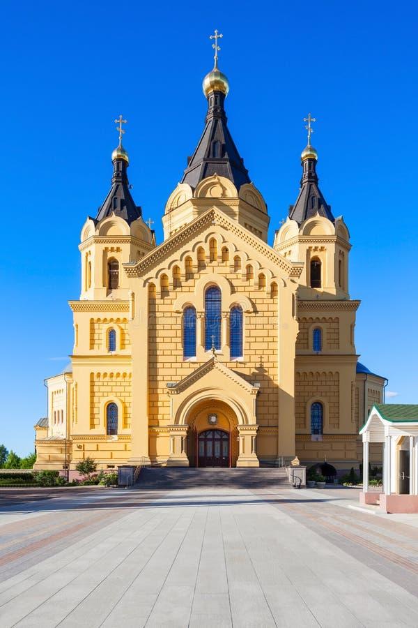 Iglesia del St Alexander Nevskiy fotos de archivo