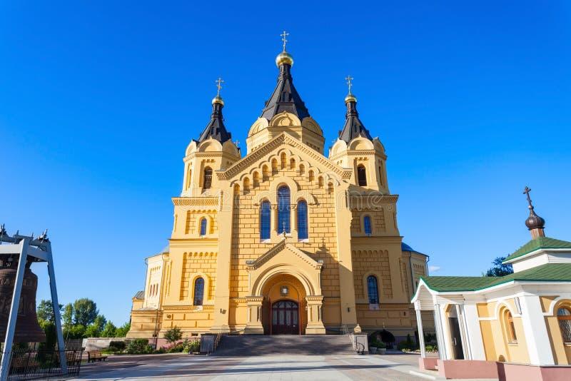 Iglesia del St Alexander Nevskiy foto de archivo libre de regalías