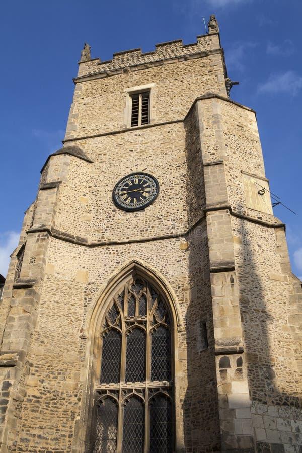 Iglesia del St Botolph en Cambridge imágenes de archivo libres de regalías
