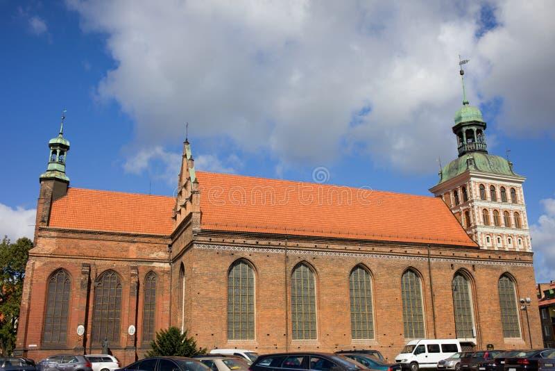 Iglesia del St. Bridget en Gdansk foto de archivo