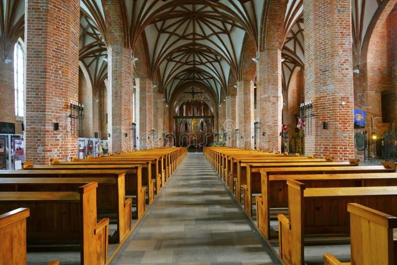 Iglesia del St. Bridget, Gdansk imagen de archivo