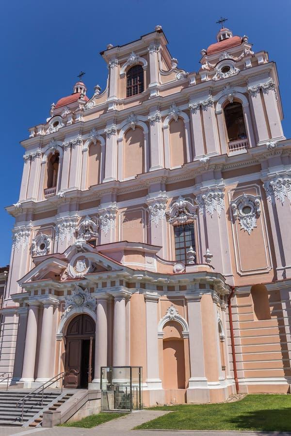 Iglesia del St Casimiro fotos de archivo