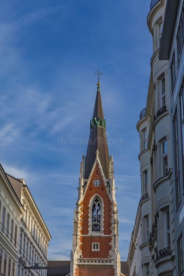 Iglesia del St Elisabeth en Viena foto de archivo libre de regalías