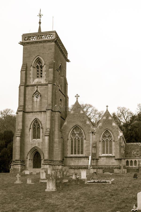 Iglesia A del St Etheldreda fotos de archivo libres de regalías