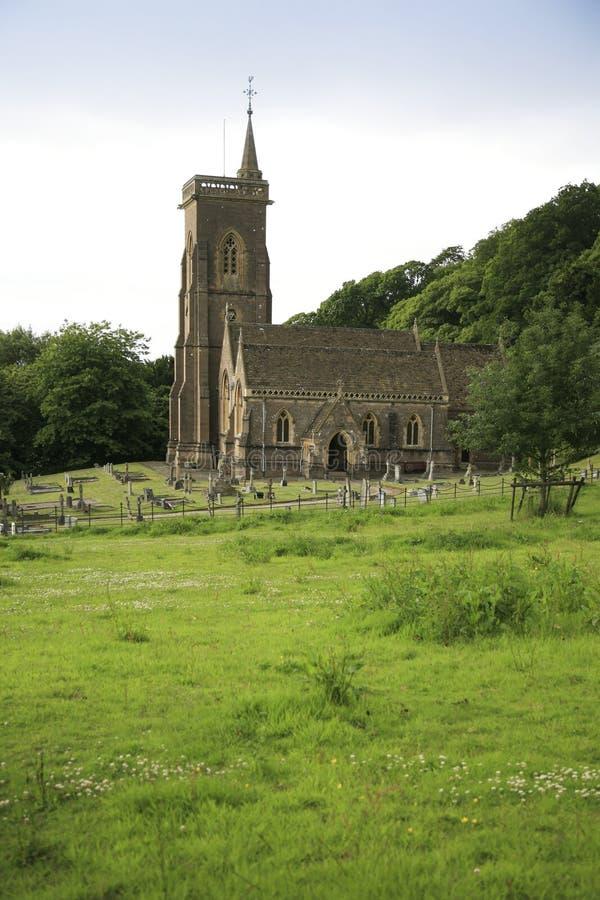 Iglesia del St Etheldreda, Exmoor foto de archivo