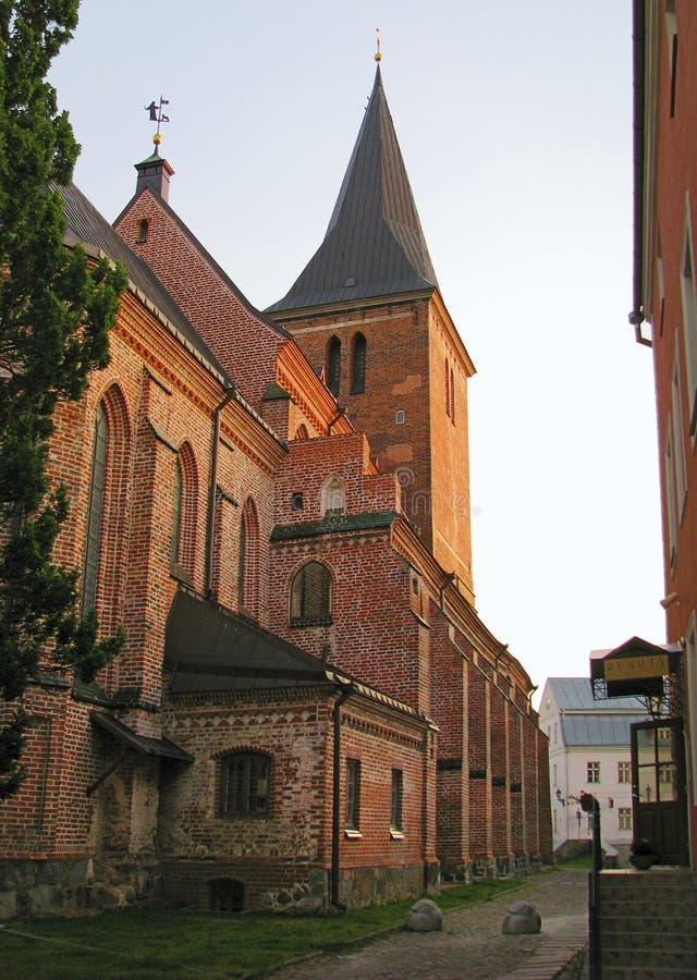 Iglesia del St Johnen Tartu, Estonia imagen de archivo libre de regalías