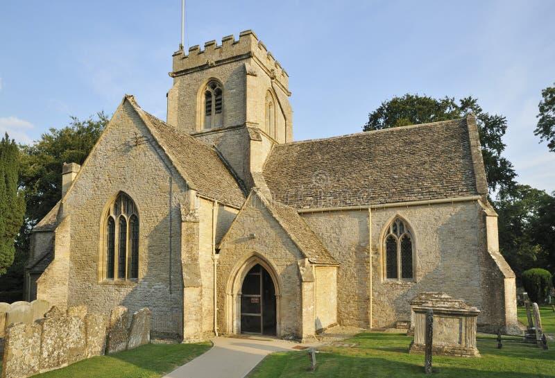 Iglesia del St. Kenelm imagenes de archivo