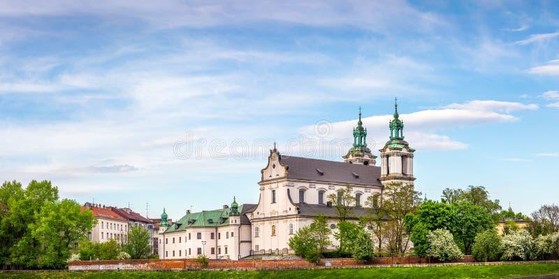 Iglesia del St Michael Archangel en Cracovia, Polonia imagen de archivo libre de regalías
