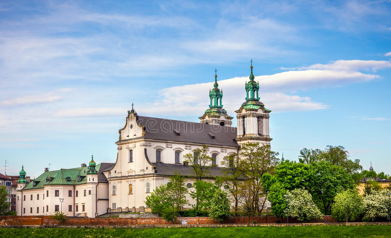 Iglesia del St Michael Archangel en Cracovia, Polonia imágenes de archivo libres de regalías