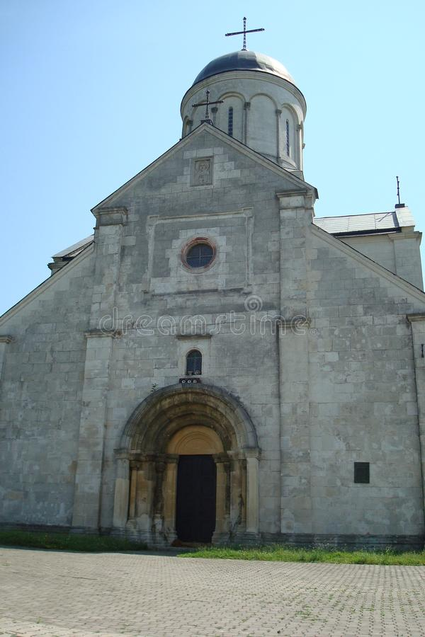 Iglesia del St Panteleymon cerca de Galich, Ucrania fotos de archivo