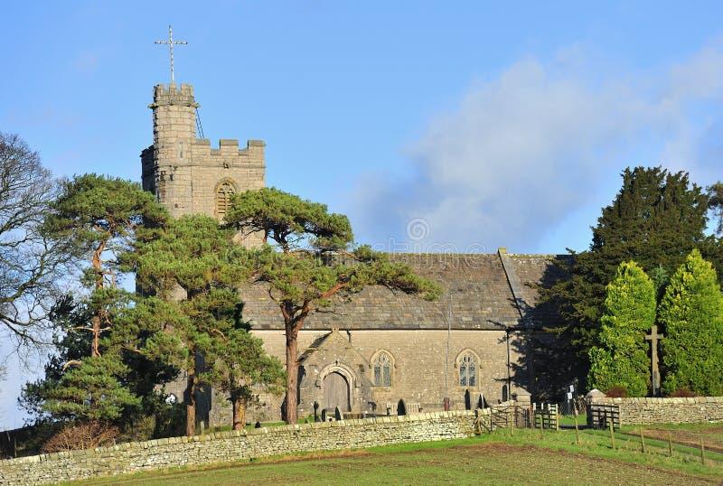Iglesia del St Patricks, Preston Patrick, Cumbria imagen de archivo