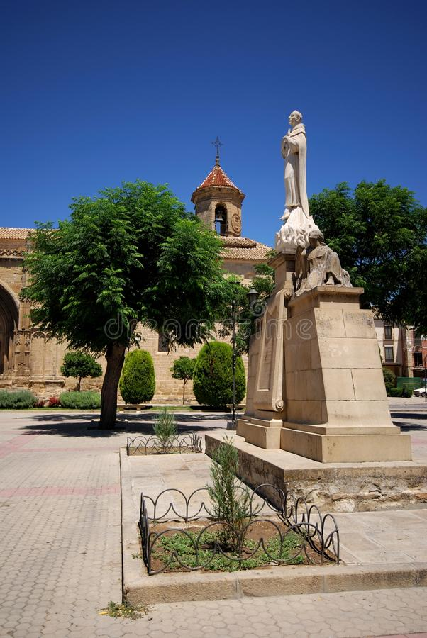 Iglesia del St. Pauls, Úbeda, España. imagen de archivo libre de regalías