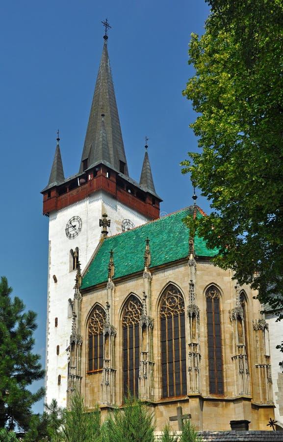 Iglesia del stvrtok de Spissky fotos de archivo libres de regalías