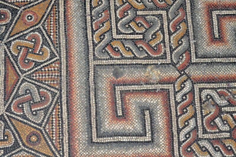 Iglesia del suelo de mosaico de la natividad imagen de archivo libre de regalías