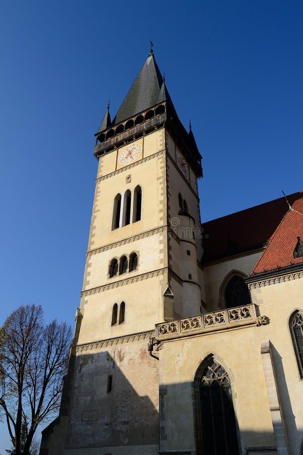 Iglesia del SV Aegidius, fotografía de archivo libre de regalías