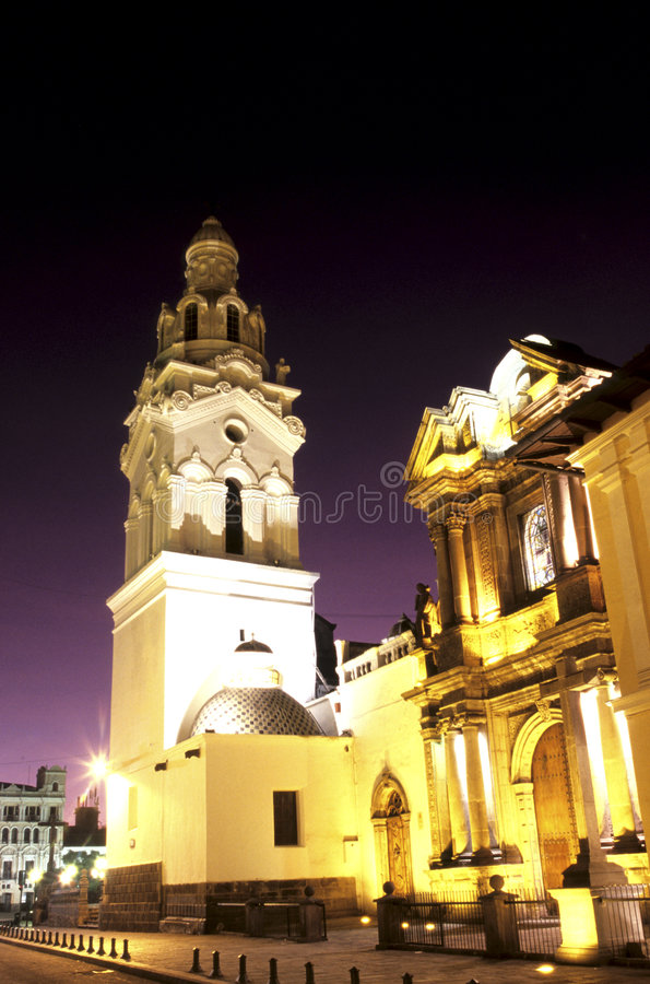 Iglesia Ecuador foto de archivo