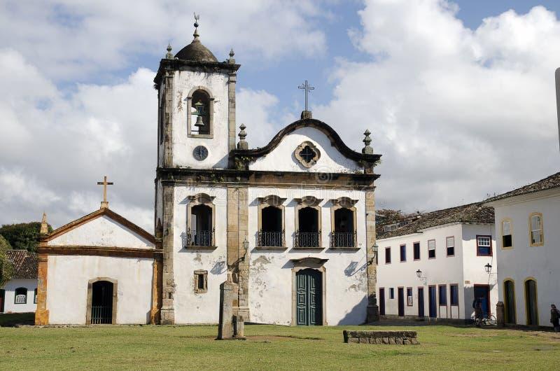 Iglesia. El Brasil imágenes de archivo libres de regalías