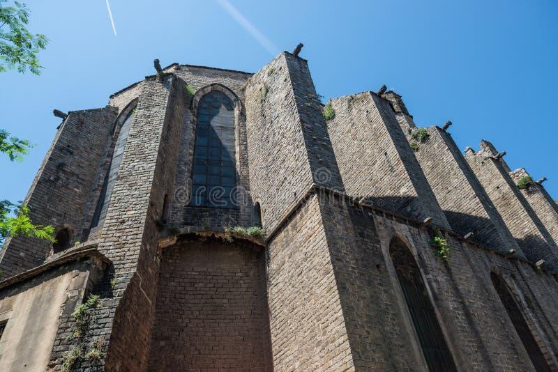 Iglesia en Barcelona fotos de archivo