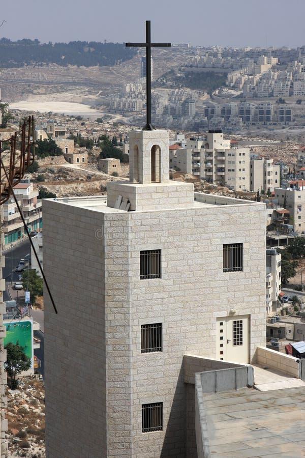 Iglesia en Bethlehem fotografía de archivo libre de regalías