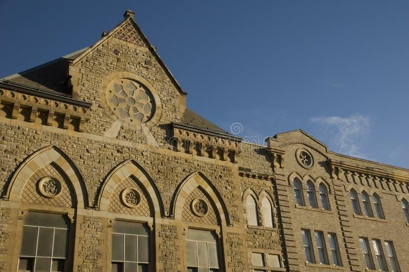 Iglesia en cantón, Ohio imagen de archivo libre de regalías