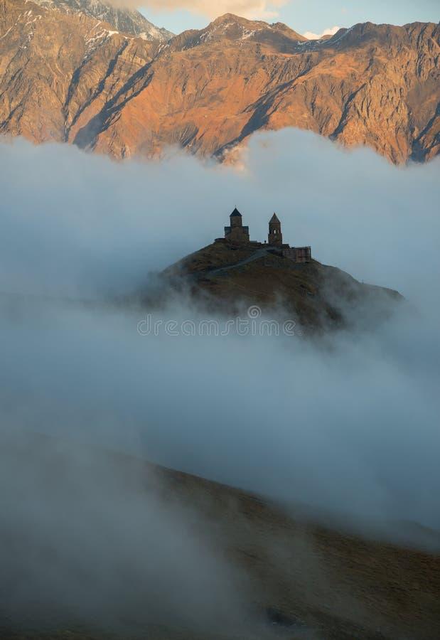 Iglesia en clouds_ foto de archivo libre de regalías