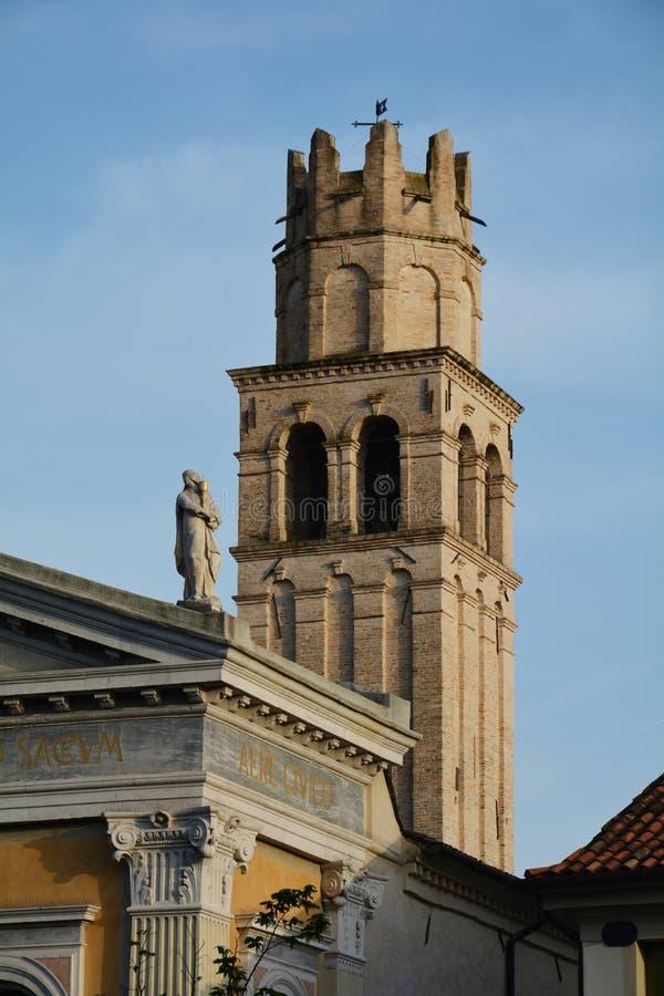 Iglesia en Conegliano, Italia fotografía de archivo libre de regalías