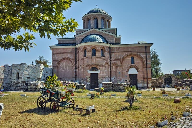 Iglesia en el monasterio medieval St John el Bautista, Bulgaria imágenes de archivo libres de regalías