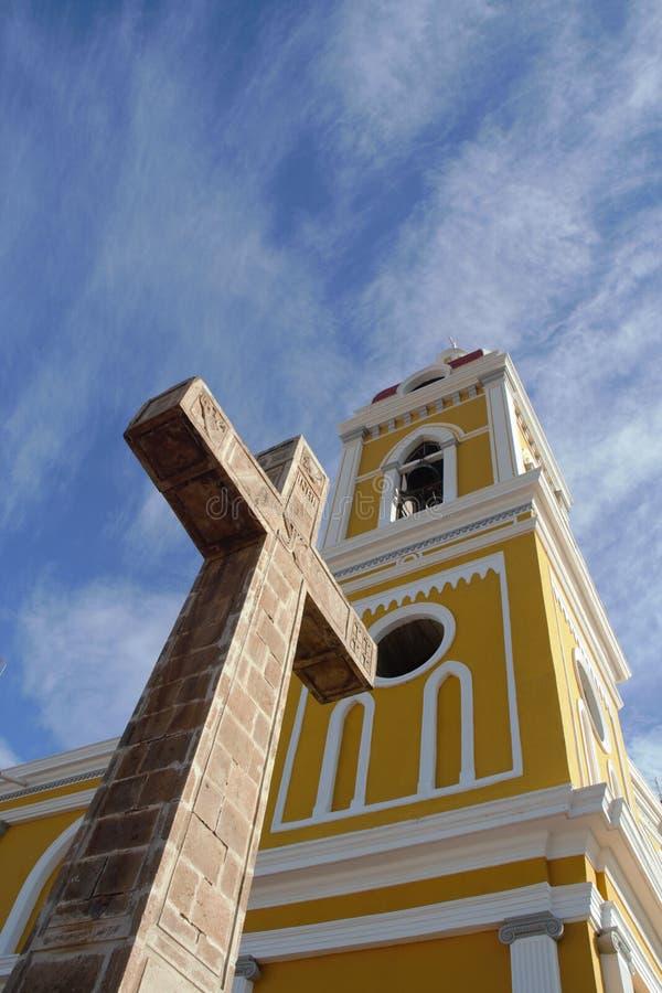 Iglesia en Granada fotografía de archivo