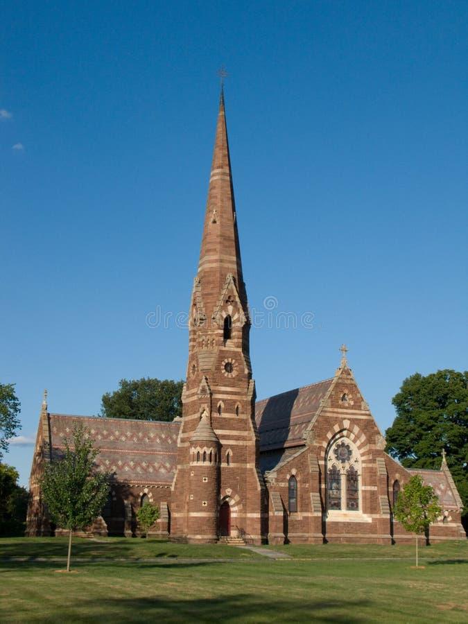Iglesia en Hartford, Connecticut imagen de archivo libre de regalías