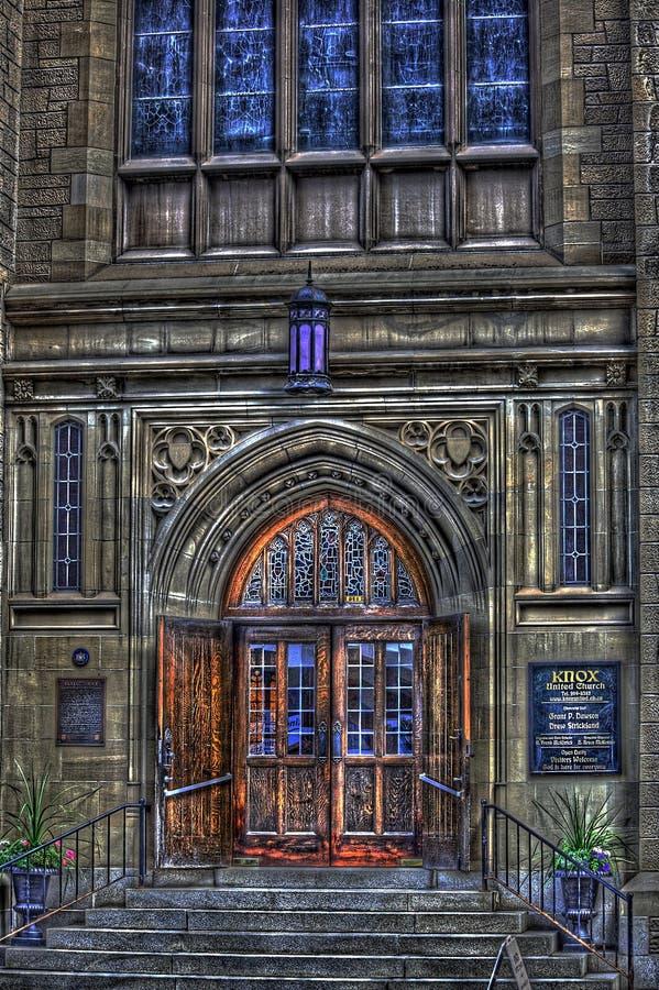 Iglesia en HDR imagen de archivo libre de regalías