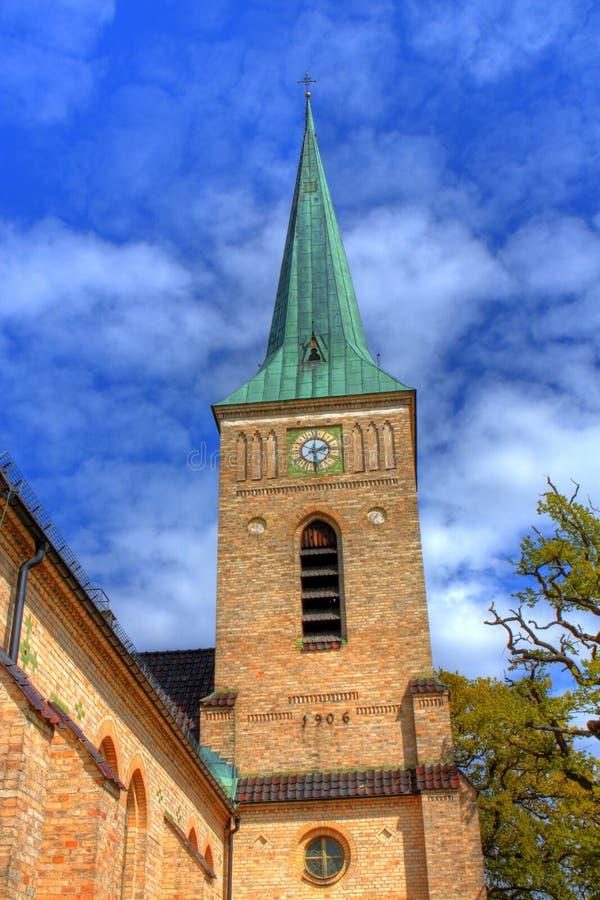 Iglesia en HDR foto de archivo