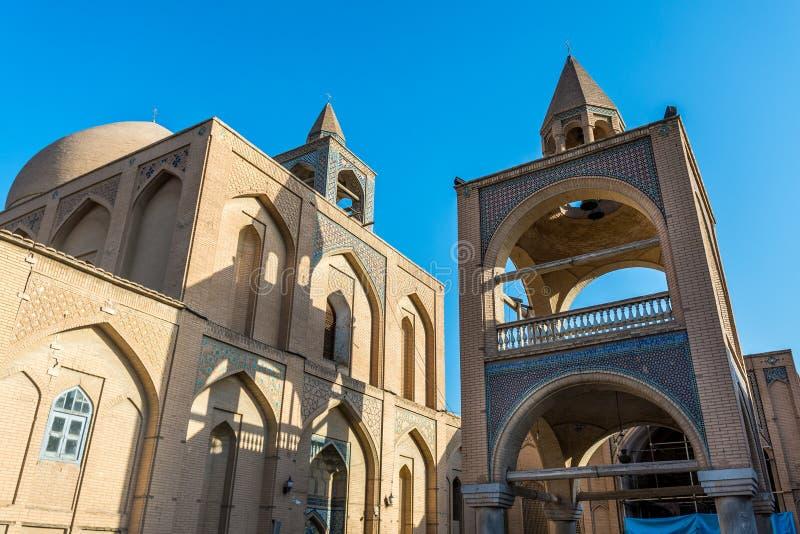Iglesia en Isfahán fotos de archivo