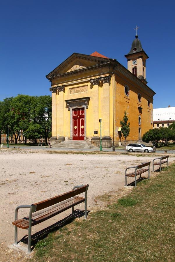 Iglesia en Josefov foto de archivo libre de regalías