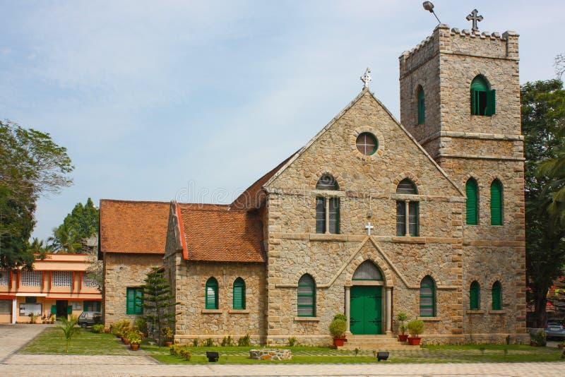 Iglesia en Kerala imagen de archivo