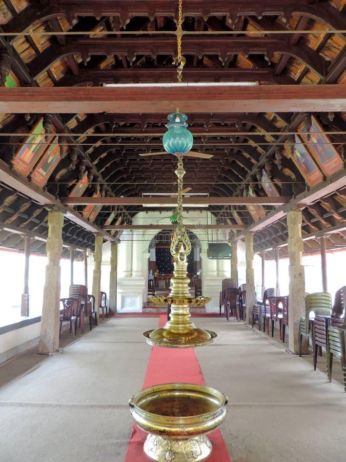 Iglesia en Kerala, la India imágenes de archivo libres de regalías