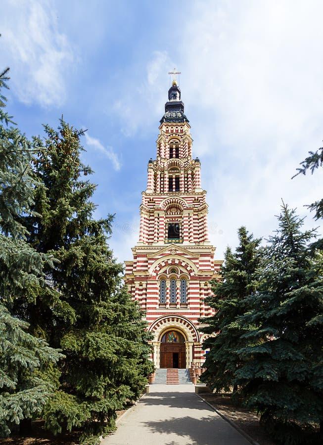 Iglesia en Kharkov. Ucrania. foto de archivo
