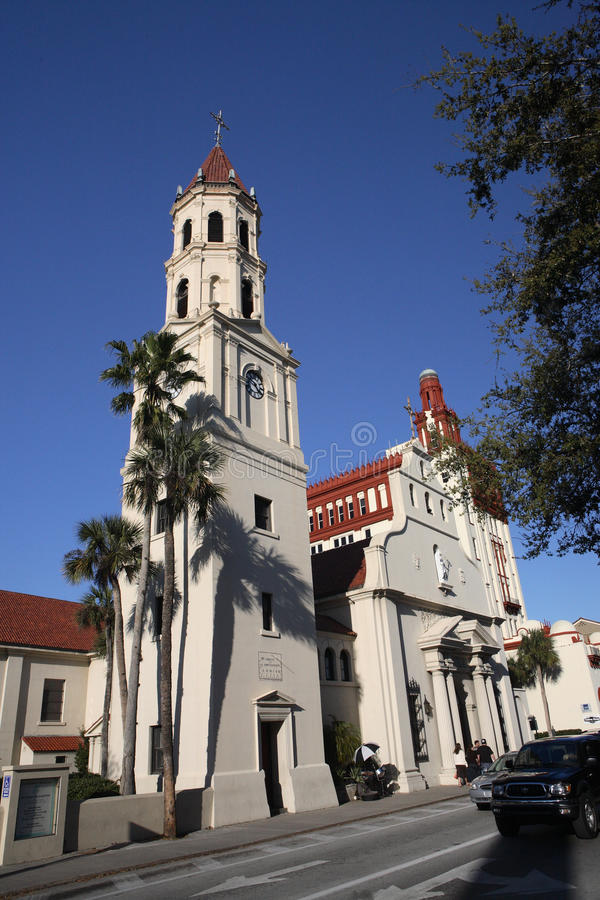 Iglesia en la Florida fotografía de archivo