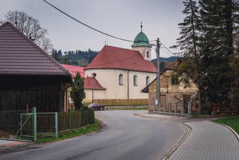 Iglesia en Liptal foto de archivo libre de regalías