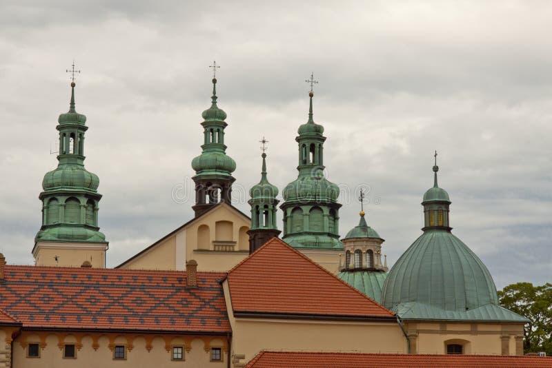 Iglesia en lugar de la UNESCO de Kalwaria Zebrzydowska - de Polonia. fotos de archivo