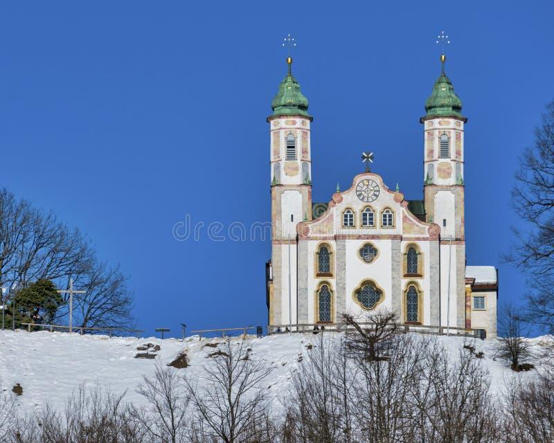 Iglesia en mún Tölz fotos de archivo libres de regalías