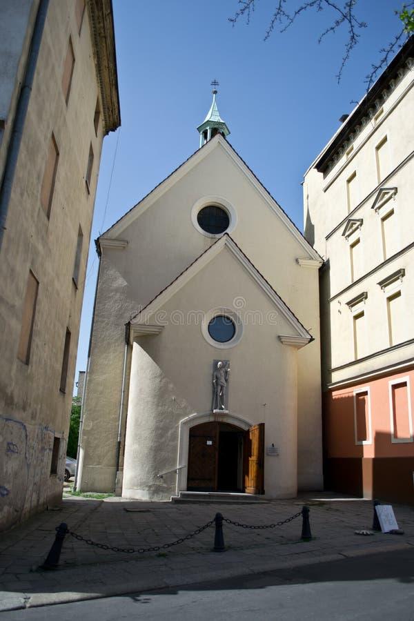 iglesia en Opole, Polonia imagen de archivo