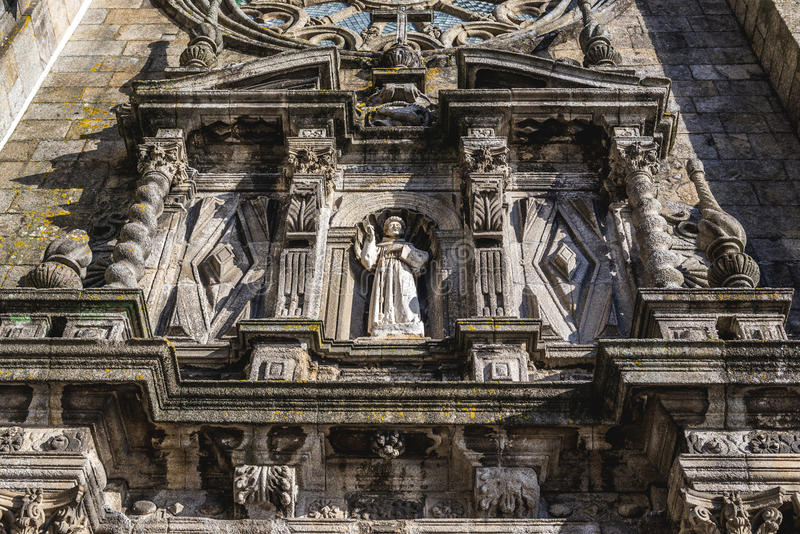 Iglesia en Oporto fotografía de archivo libre de regalías